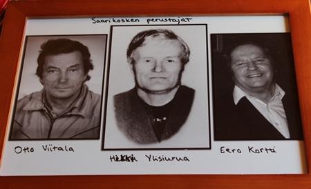 Otto Viitala, Heikki Ylisiurua ja Eero Kortti